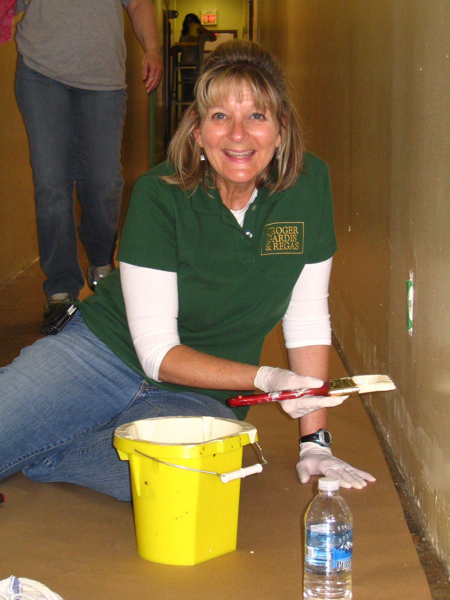 Wheeler Mission painting day